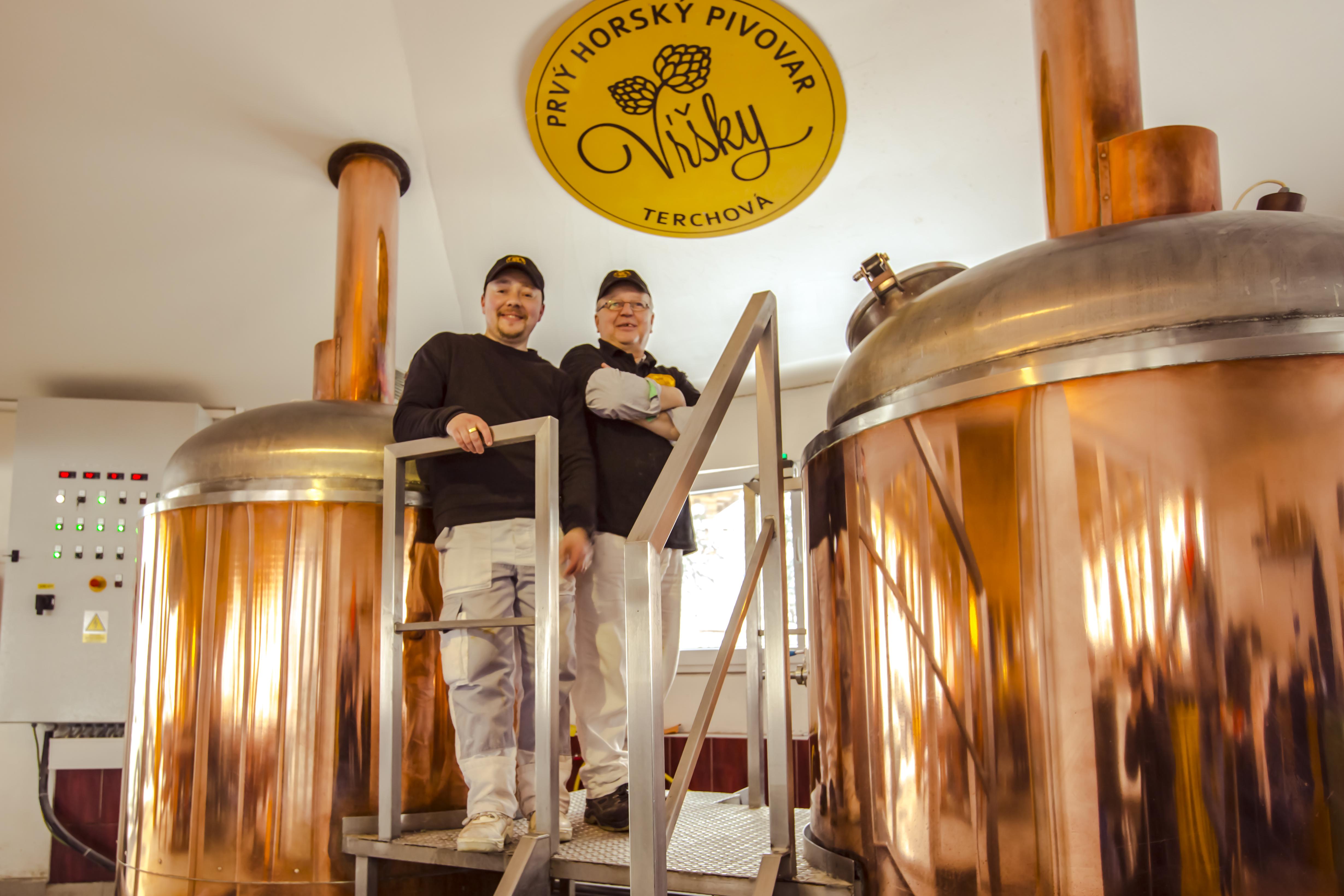 Predstavujeme prvý horský pivovar Vŕšky v Terchovej