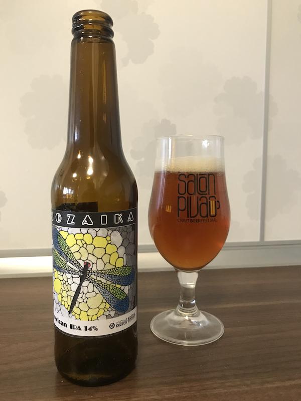 Mozaika od nového kočovného pivovaru Krúžok je horká bomba