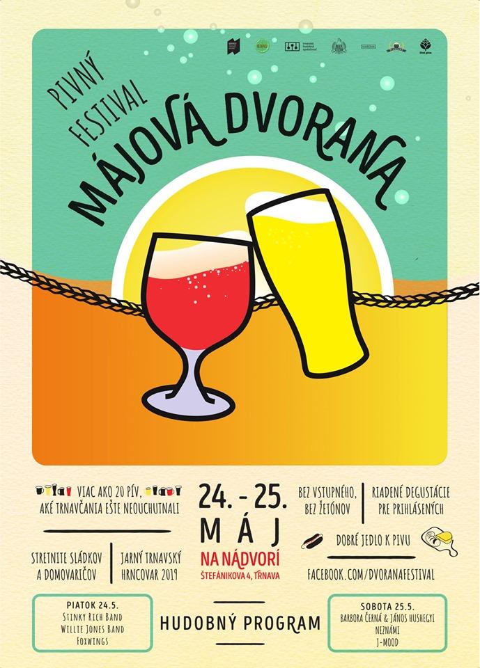 Májová Dvorana odštartuje pivnú festivalovú sezónu v Trnave