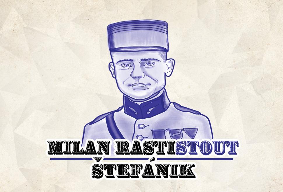 Najväčší Slovák M.R.Štefánik má aj svoje vlastné pivo