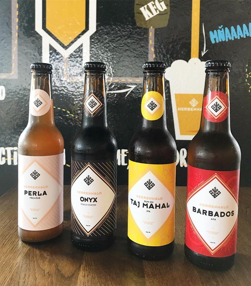 Fľaškové pivo Herrenwald